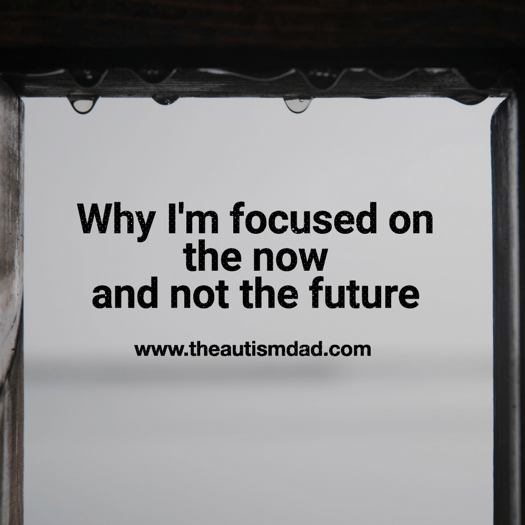 Why I'm focused on the now and not the future