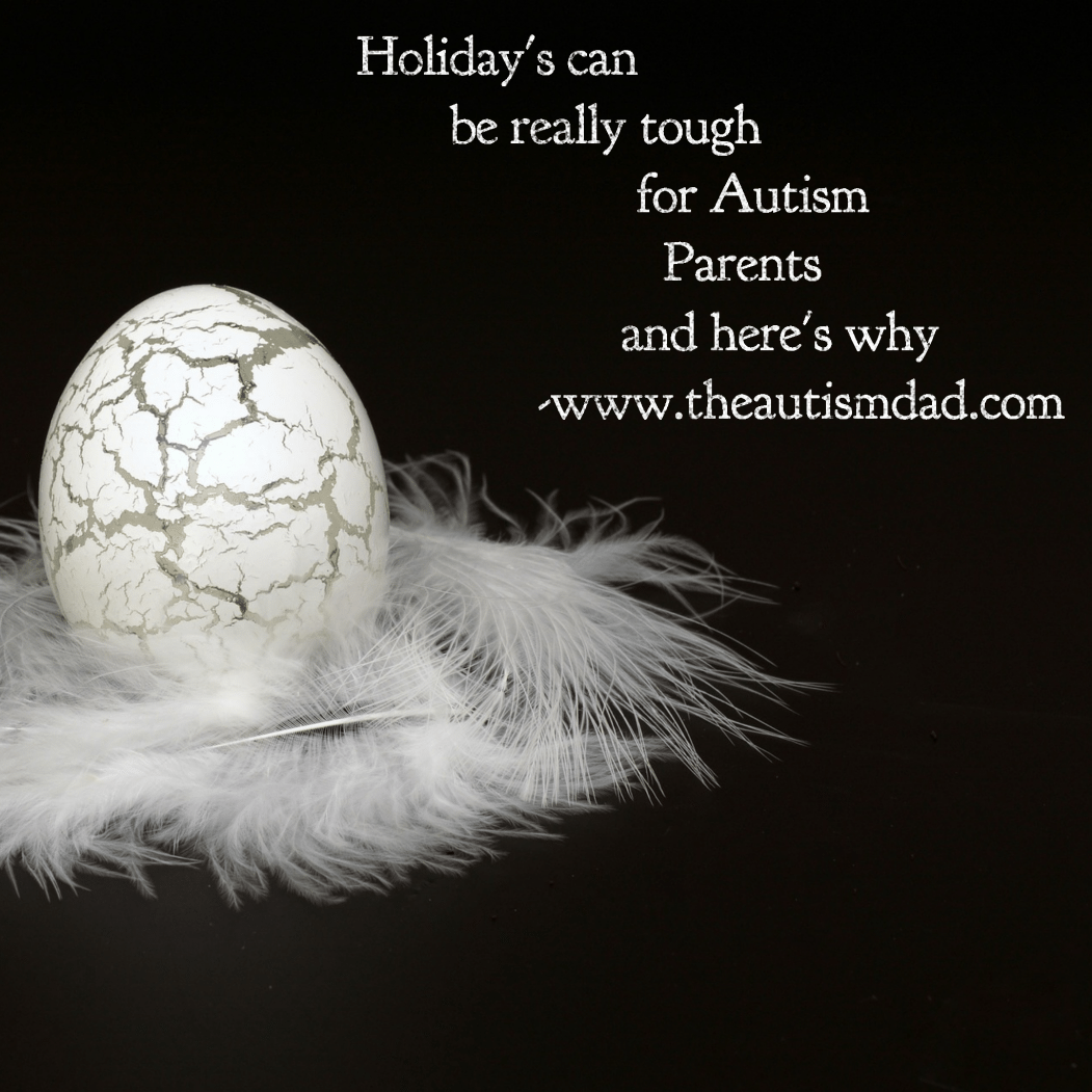 Holiday's can be really tough for #Autism Parents and here's why