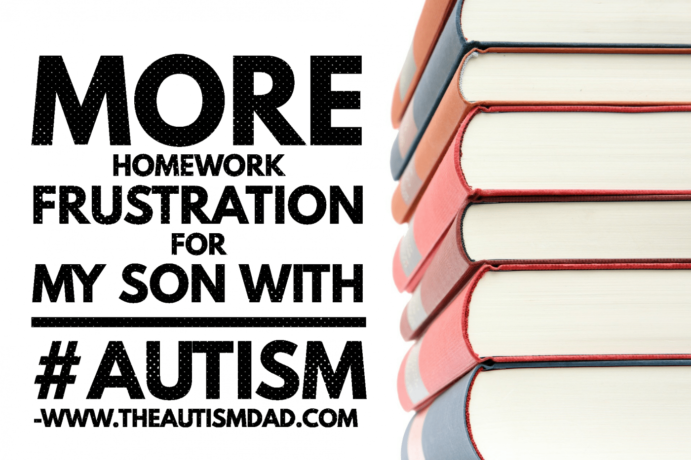 More homework frustration for my son with #Autism