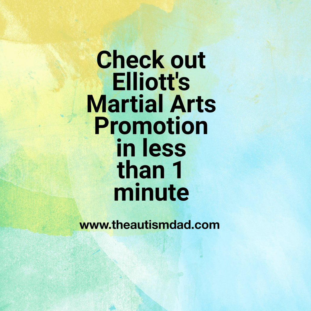 Check out Elliott's Martial Arts Promotion in less than 1 minute