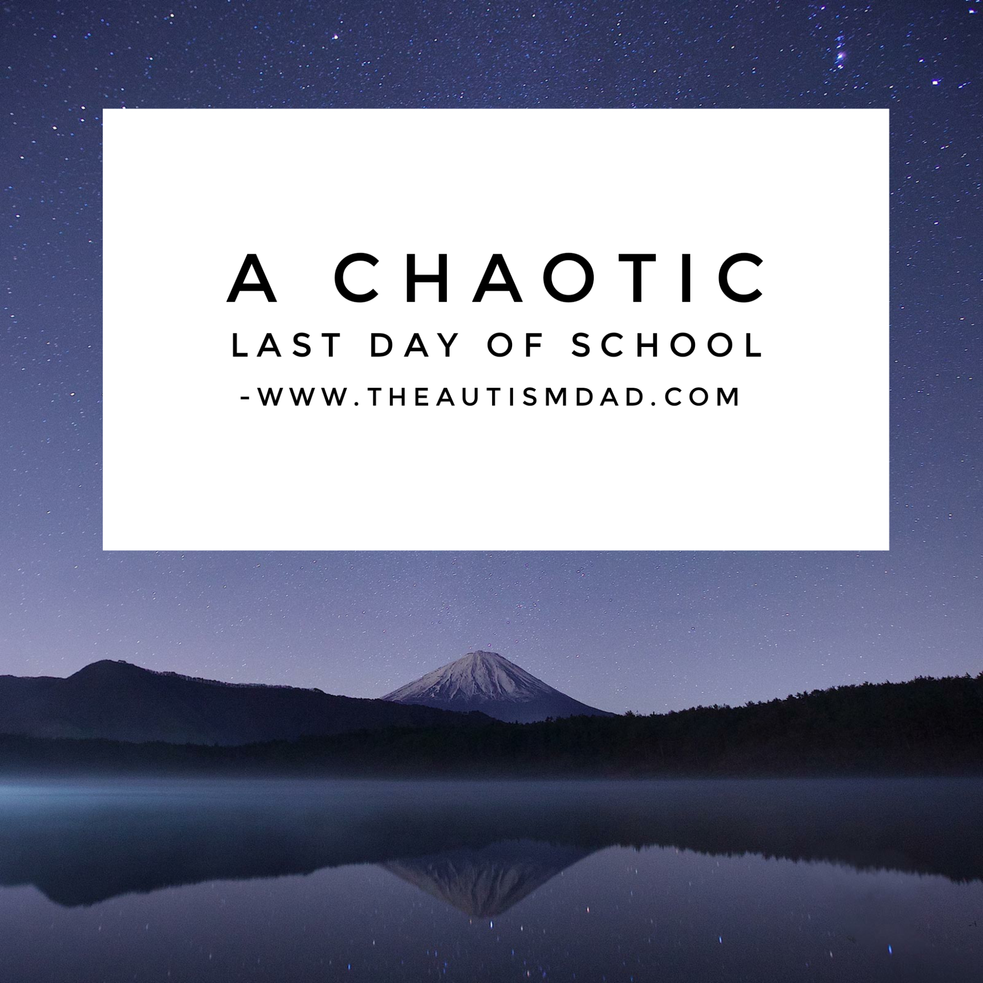 A chaotic last day of school