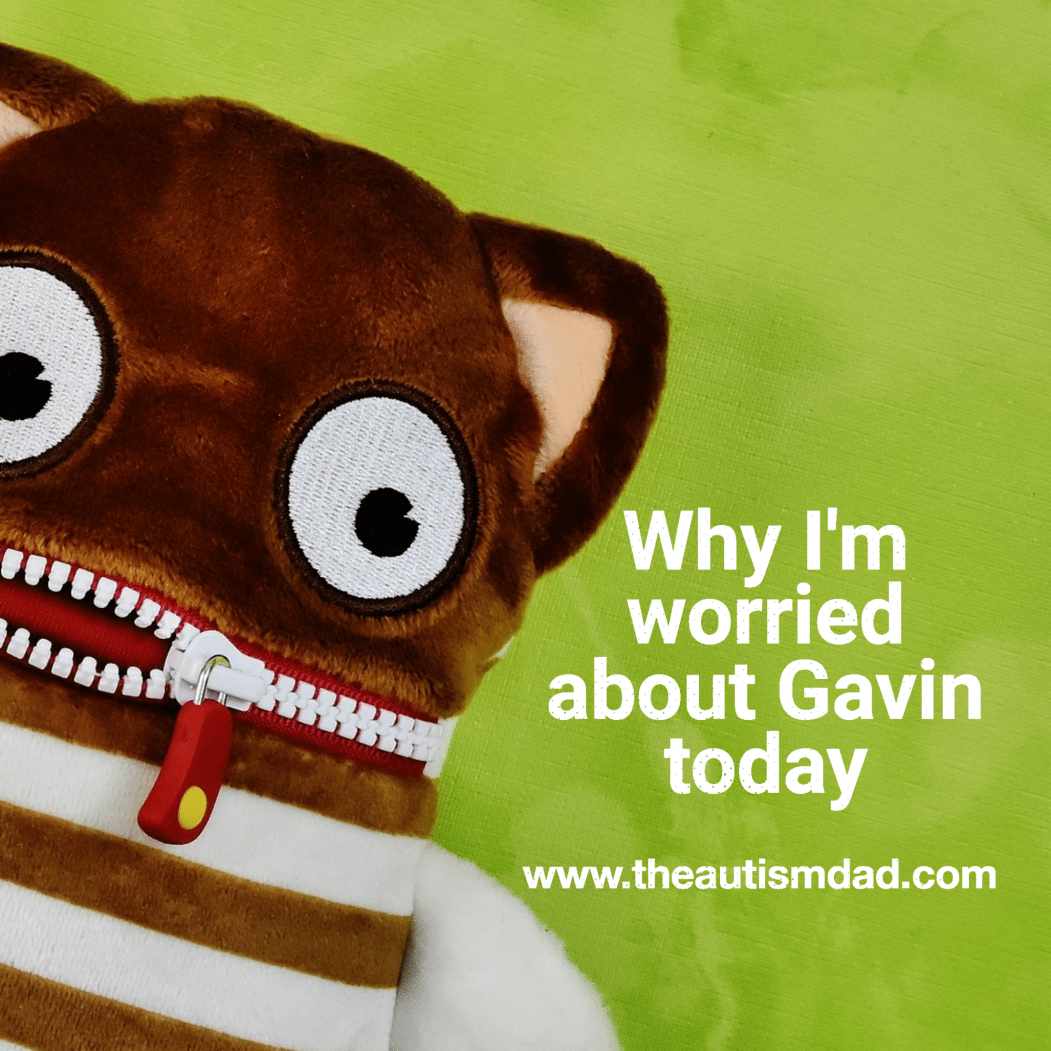 Why I'm worried about Gavin today
