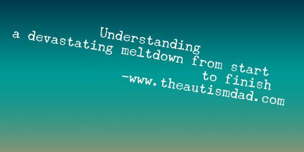 Understanding a devastating meltdown from start to finish