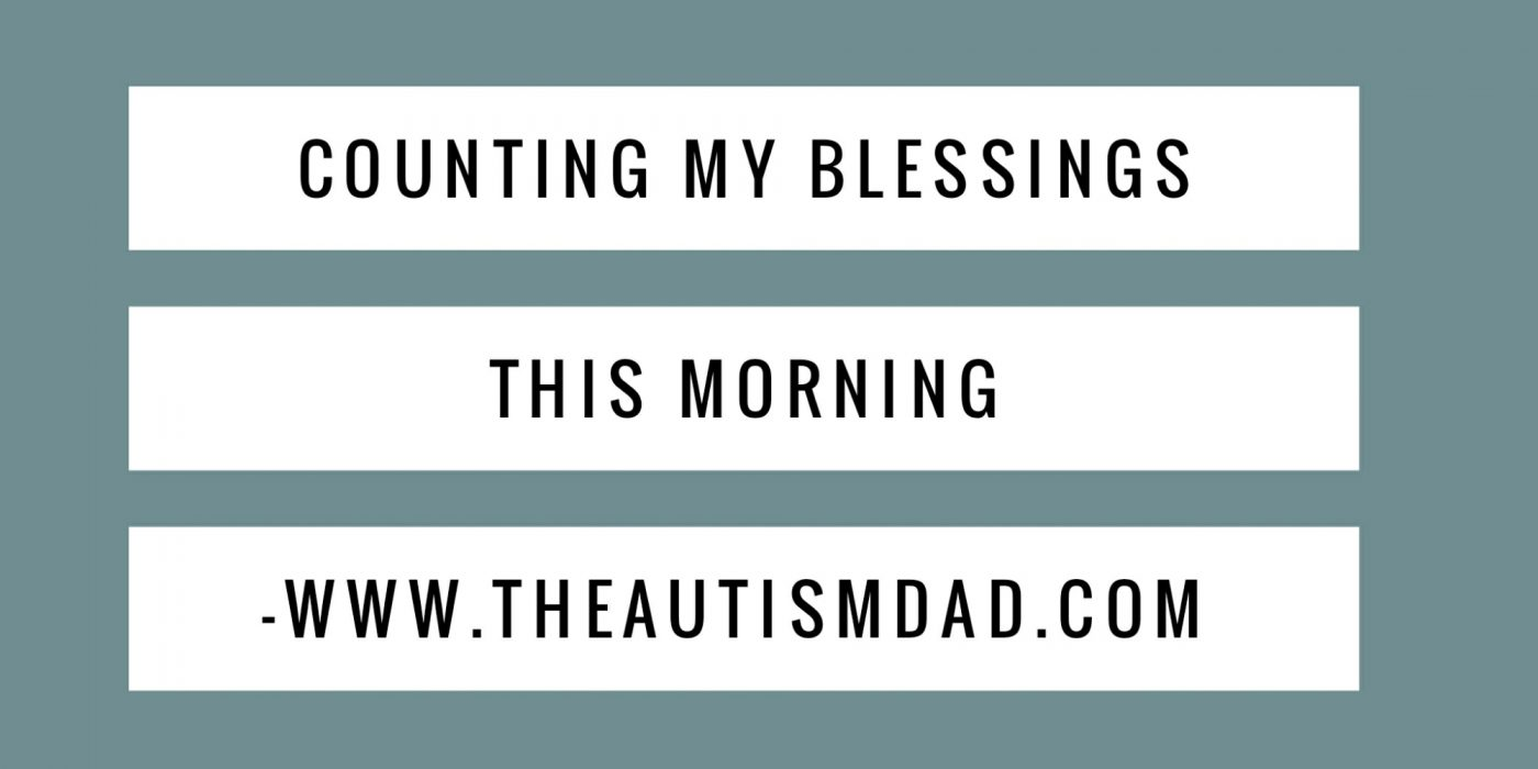 Counting my blessings this morning