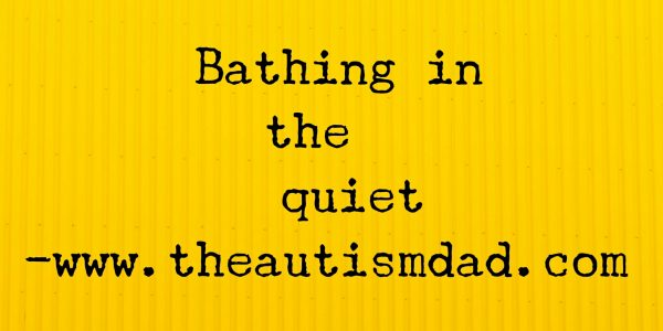 Bathing in the quiet