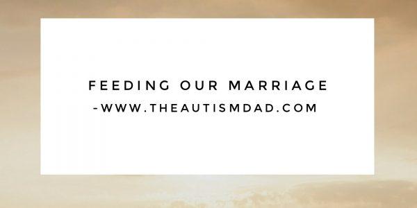 Feeding our marriage