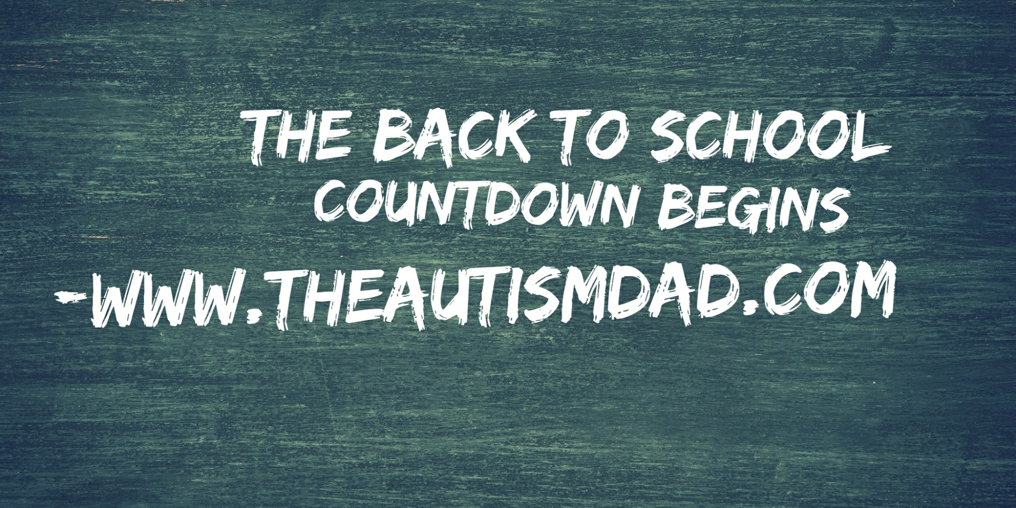 The back to school countdown begins