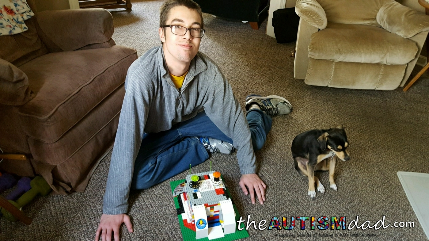 Another Lego creation by Gavin