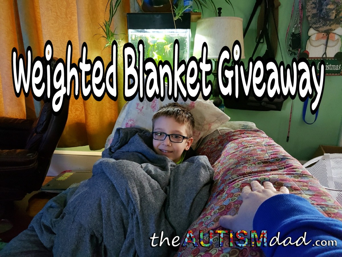 Lifetime Sensory Solution weighted blanket GIVEAWAY