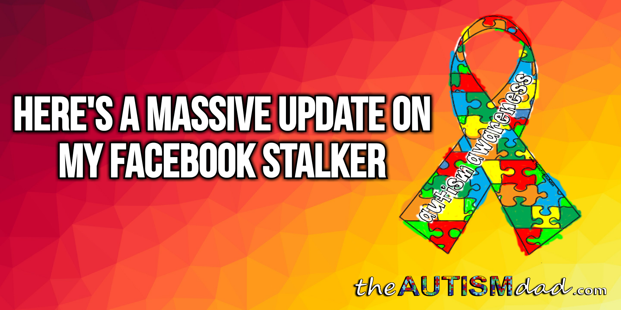 Here's a massive update on my Facebook stalker