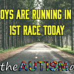 The boys are running in their 1st race today