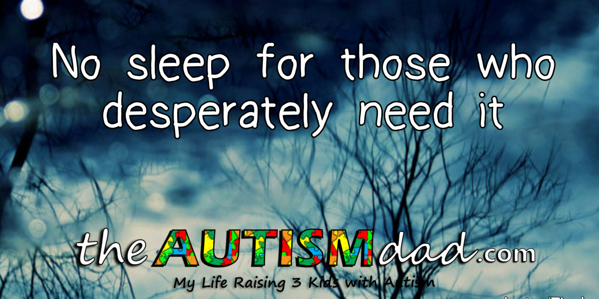 No sleep for those who desperately need it