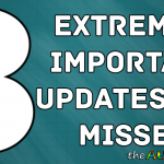 3 extremely important updates you missed