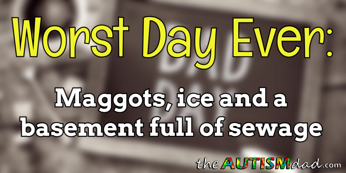 Worst Day Ever – Maggots, ice and a basement full of sewage