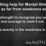 Getting help for #mentalillness is NOT weakness