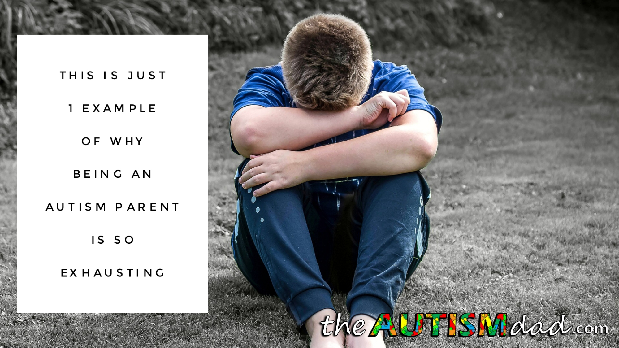 This is just 1 example of why being an #Autism parent is so exhausting