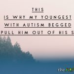 This is why my youngest with #Autism begged us to pull him out of his school
