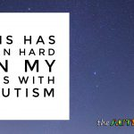 This has been hard on my kids with #Autism