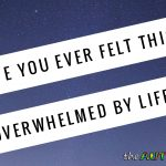 Have you ever felt this overwhelmed by life?