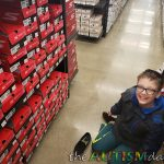This is what happened when I took my son with #Autism, shoe shopping today