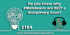 Do you know why #Meltdowns are NOT a disciplinary issue?