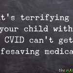 It's terrifying when your child with #CVID can't get his lifesaving medication
