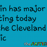 Gavin has major testing today at the @ClevelandClinic
