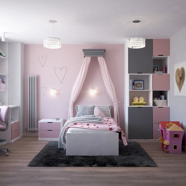 'Pink And Gray - Calming Color Combo For Your Home